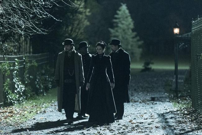 Les personnages de Penny Dreadful sur les traces des vampires. © Showtime Networks Inc.