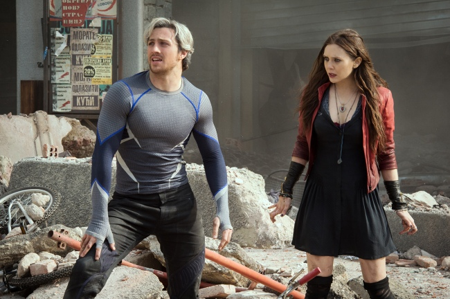 Pietro Maximoff aka Quicksilver et Wanda Maximoff aka La Sorcière Rouge, nouveaux Avengers © Marvel 2015