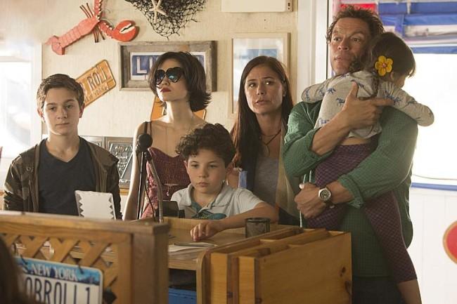 La famille Solloway au complet en vacances à Montauk. © Showtime Networks Inc