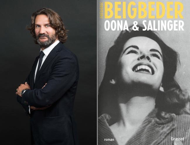 Frederic Beigbeder et son nouveau roman sur Oona O'Neill et J.D. Salinger © JF Paga, Angers Mag