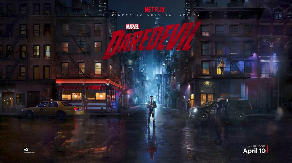 Marvel's Daredevil pour Netflix avec Charlie Cox. © Netflix