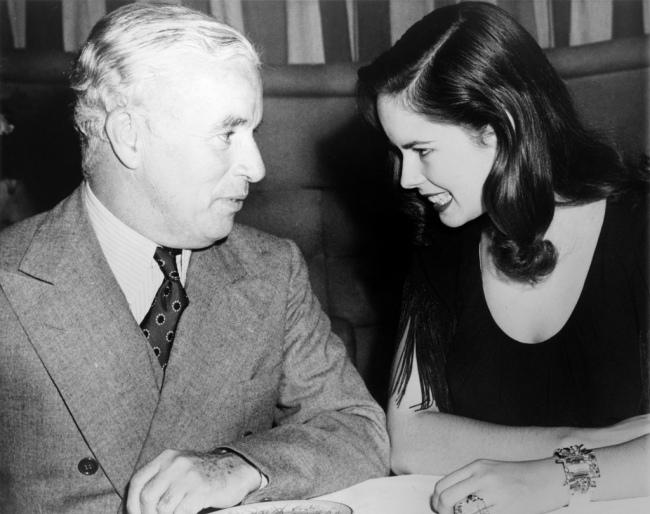 Charlie Chaplin et Oona O'Neill