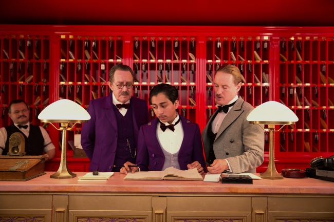 Zero au Grand Budapest Hotel. © Twentieth Century Fox France