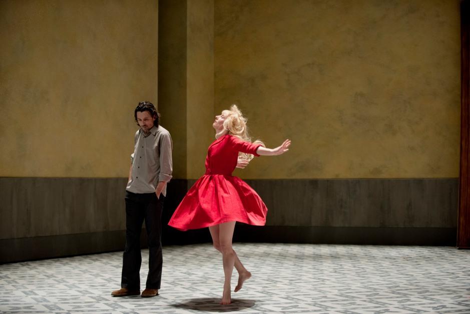 "Théâtre de la Colline ""Affabulazione"" de Pier Paolo Pasolini, mise en scène Stanislas Nordey. © Elisabeth Carecchio"