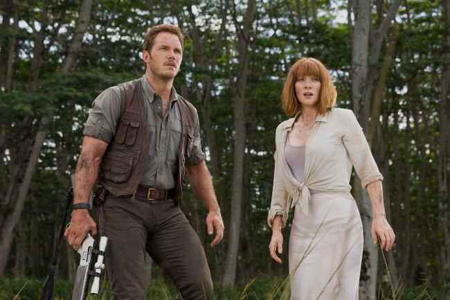 Chris Pratt et Bryce Dallas Howard. © Universal Pictures