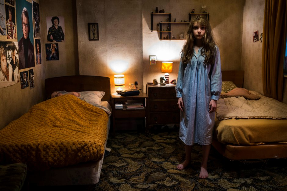 The Enfield Haunting - Eleanor Worthington-Cox as Janet Hodgson Credit: Photograph by Nick Briggs (Picture: Sky)