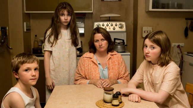 La famille Hodgson hanté par le fantôme. © Sky