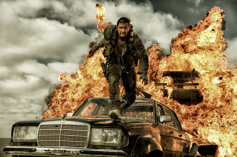 Tom Hardy est Mad Max. © Warner Bros. France