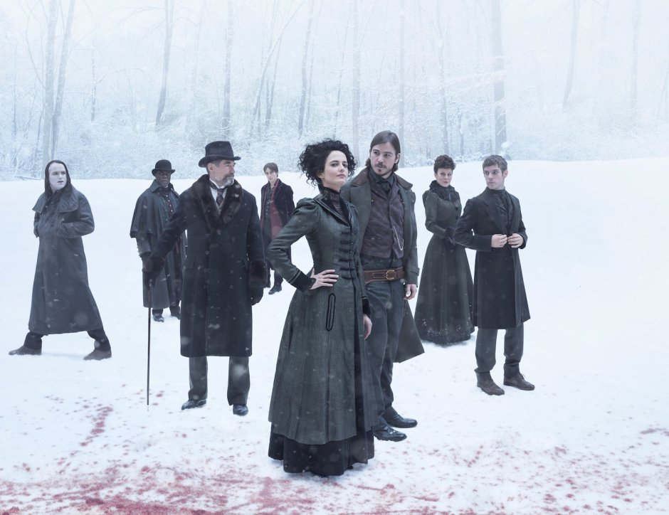 Vanessa Ives et Ethan Chandler dans la saison 2 de Penny Dreadful. © Showtime