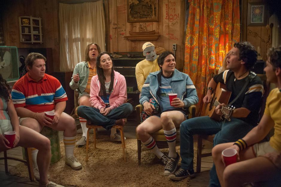Les acteurs de Wet Hot American Summer pour Netflix