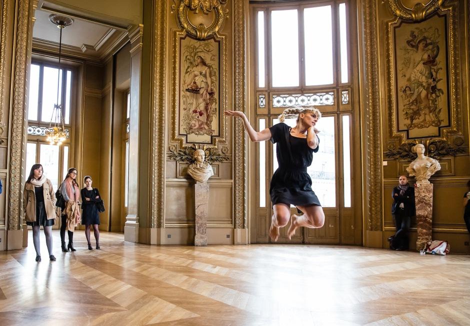 Caroline Bance - 20 danseurs pour le XXe siècle - Conception Boris Charmatz © Agathe-Poupeney