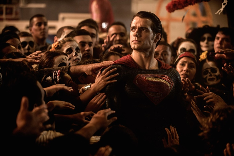 Superman (Henry Cavill), dieu vivant ? © Warner Bros. France