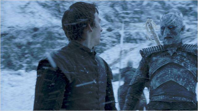 """Dans l'épisode 5 (""""Hold The Door""""), Bran (Isaac Hempstead-Wright) est vite repéré par le Roi de la Nuit. Le royaume de Westeros se retrouve ainsi en grand danger. © HBO distribution"""