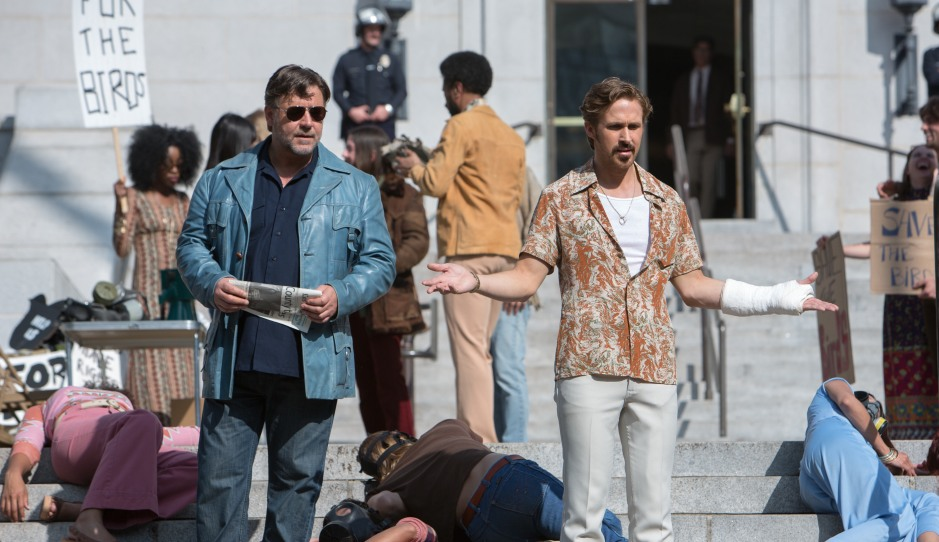 Russel Crowe et Ryan Gosling dans The Nice Guys de Shane Black © EuropaCorp Distribution