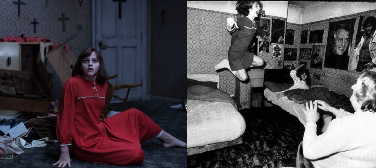 Inspiré d'une histoire vraie, l'affaire Enfield a suscité une vive polémique à la fin des années 1970. Canular ou fait véridique, le débat persiste et ce malgré des nombreuses archives sonores et photographiques. © Warner Bros et Twitter