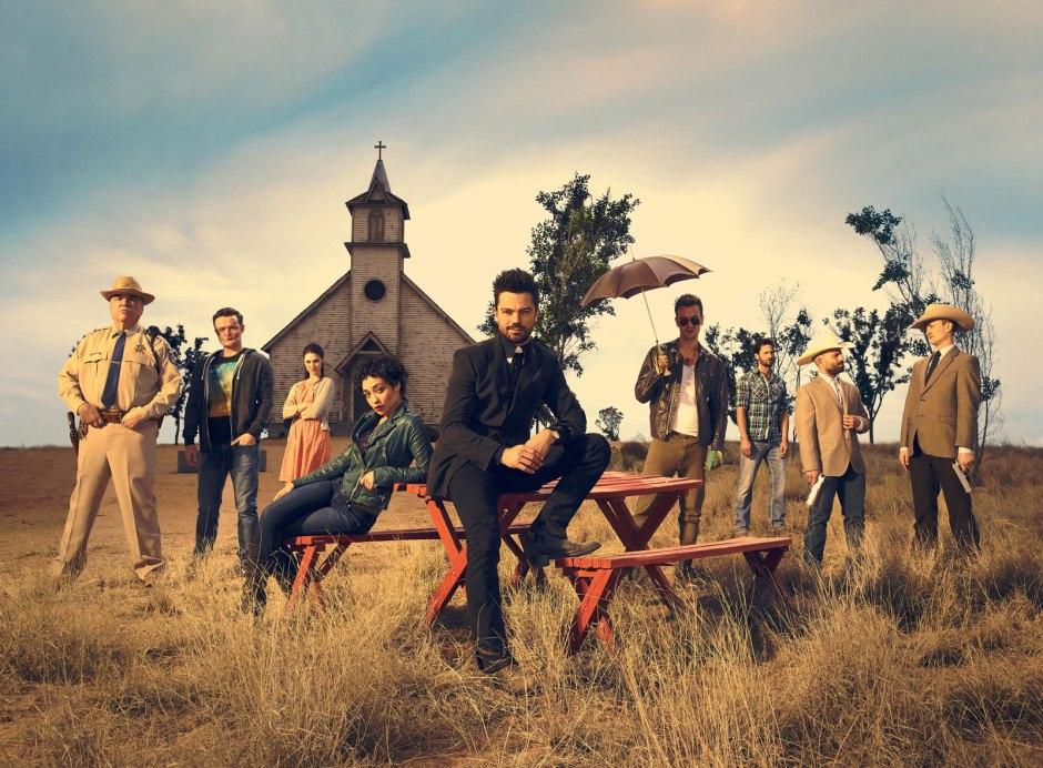 Le casting complet de Preacher, série de Seth Rogen et Evan Goldberg © Matthias Clamer/AMC