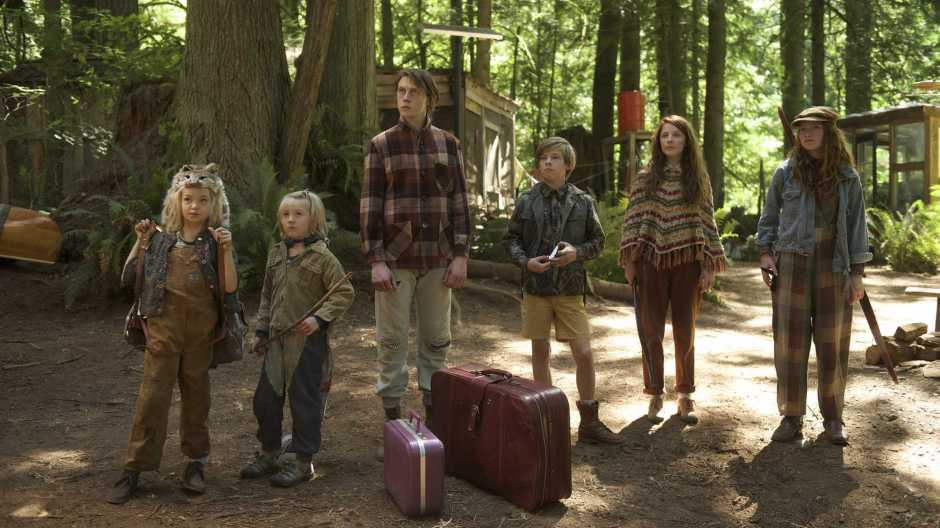 Les six enfants Cash dans Captain Fantastic de Matt Ross © Mars Distribution