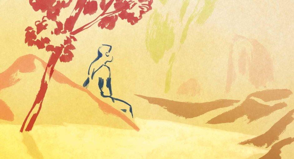 """Dans """"la Jeune Fille sans les mains"""", l'héroîne va devoir s'exiler à plusieurs reprises et trouver refuge dans la nature. © Shellac"""