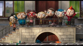 """Ma Vie de Courgette"" réalisé par Claude Barras. © Copyright RITA PRODUCTIONS -BLUE SPIRIT PRODUCTIONS-GEBEKA FILMS -KNM -RTS SSR-FRANCE 3 CINEMA-RHONES-ALPES CINEMA - HELIUM FILMS 2016"