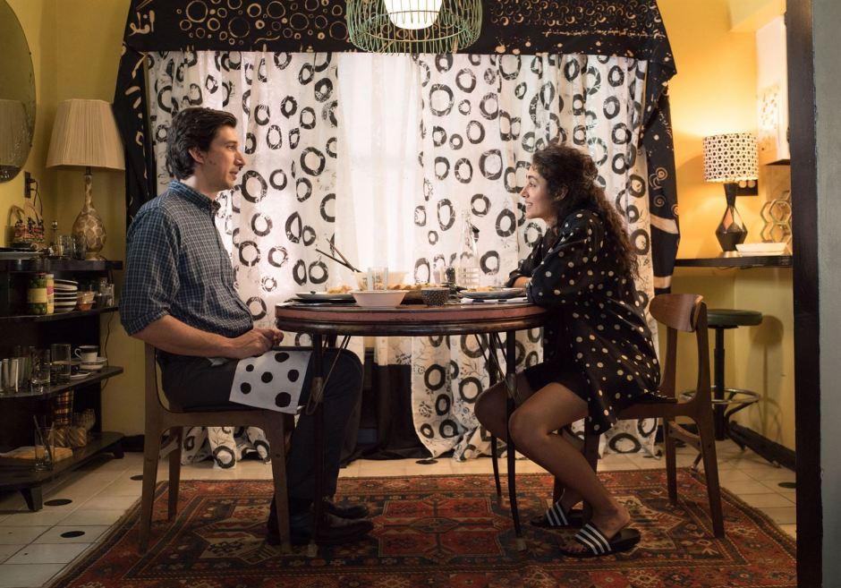 """Adam Driver et Golshifteh Farahni forment un couple atypique et touchant dans le poétique """"Paterson"""" de Jim Jarmusch. © Mary Cybulski"""