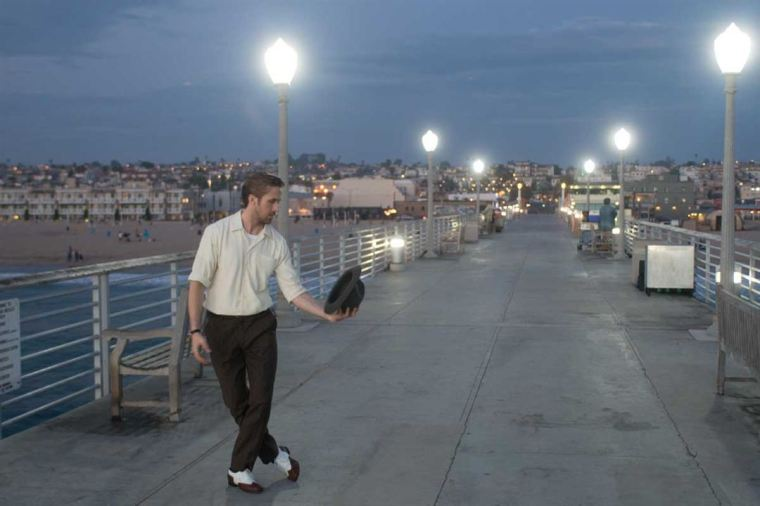 Quelques pas de danse pour Sebastian dans la ville qui brille, Los Angeles © SND