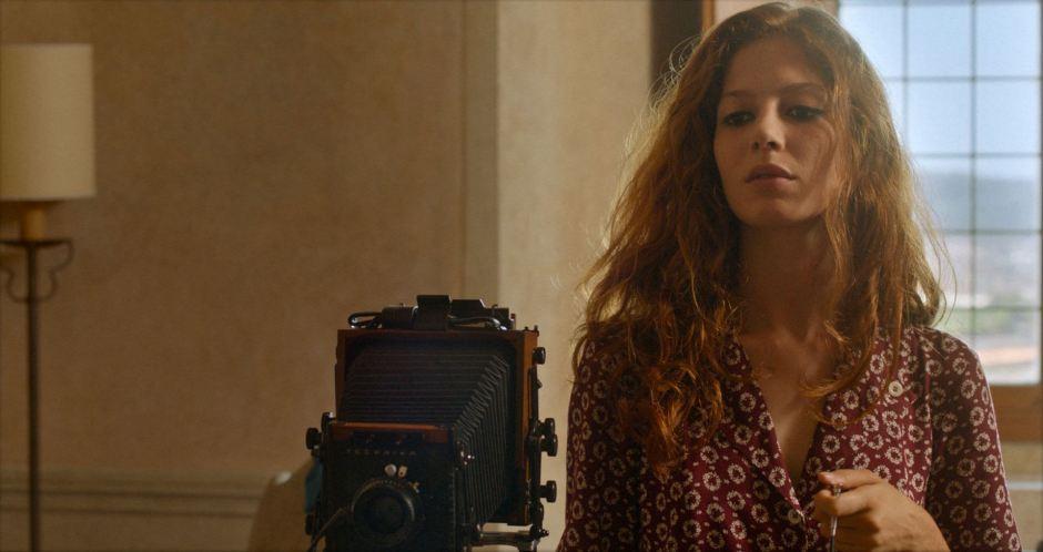 """Jenna Thiam incarne l'incandescente Axèle dans """"L'Indomptée"""", le premier film de Caroline Deruas. © Les Films du Losange"""