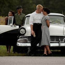 Mildred et Richard Loving s'aiment et décident de se marier, dans l'Amérique ségrégationniste de 1958 dans Loving de Jeff Nichols © Ben Rothstein Big Beach, LLC