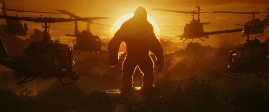 """""""Kong : Skull Island"""" réalisé par Jordan Vogt-Roberts, signe le retour du primate préféré du septième art. © Warner Bros Entertainment & Legendary Pictures Production 2017"""