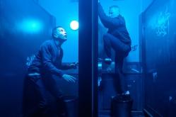 Les retrouvailles sont musclées entre Mark (Ewan McGregor) et le violent Begbie (Robert Carlyle) © Sony Pictures Releasing France