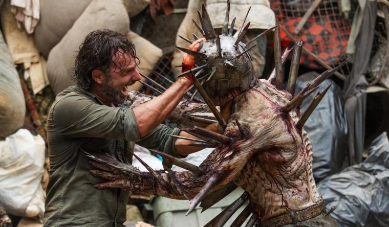 Pour rallier les autres communautés à sa cause, Rick (Andrew Lincoln) devra surmonter bien des épreuves. © Gene Page/AMC