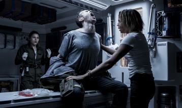 D'apparence paisible, la planète explorée par l'équipage du Covenant abrite de terribles menaces. © 2017 Twentieth Century Fox