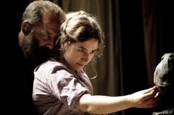 Camille Claudel (Izïa Higelin) et Rose Beuret (Séverine Caneele) incarnent les femmes qui ont marqué la vie de Rodin. © Shanna Besson / Les Films du Lendemain